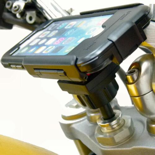 20.5-24.5mm Moto Stelo Forcella Montaggio Con Tigra Tough Custodia Per Iphone 7