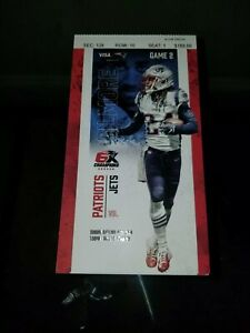 Patriots vs. Jets Ticket 9/22/19 Stephon Gilmore Highlight NO MORE PHYSICAL TIX