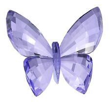 Swarovski Crystal Butterfly Provence Lavender  Retired 2015 #1182454/5155714 NIB