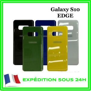 VITRE-FACADE-ARRIERE-CACHE-BATTERIE-SAMSUNG-GALAXY-S10-EDGE-AVEC-LOGO-ADHESIF