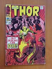 Marvel Thor, Vol. 1 # 153 (June 1968) ...But Dr. Blake Can Die
