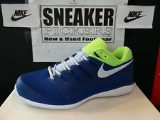 Nike Air Zoom Vapor X Tennis Shoes Mens Size 10 Eur 44 Indigo Volt Aa8030 447 For Sale Online Ebay