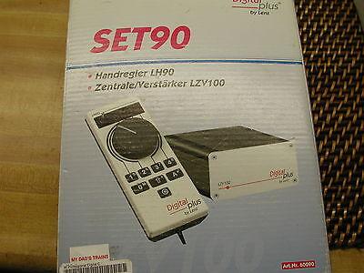 Bello Lenz Set 90 Qualità Pro Dcc Sistema Versione 3.6r Nuovo In Mfg Scatola
