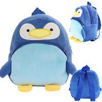 Baby Kids Cartoon Plush Backpack Schoolbag Rucksack Toddler Shoulder Bags Gift