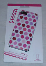 Gear4 Hard Clip-On Case for iPhone 5 - Pinky Dots (1st class p+p)