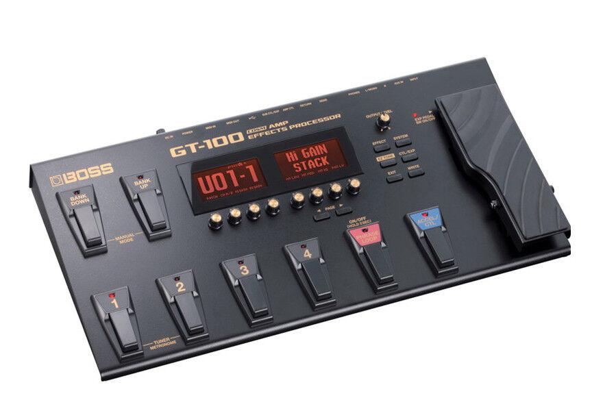Boss GT-100 Multi Effects Processor, Guitar Amp Effects Processor