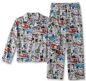 DC Comics Flash Little Boys 2 Piece Shirt /& Pants Pajama Set