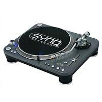Synq Dj Turntable X-trm1 / Pro Dj Turntable (dark Grey) Nip
