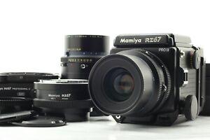 Quasi Nuovo +++ Mamiya RZ67 Pro II + Sekor Z 90mm F3.5 W + 180mm F4.5 dal Giappone