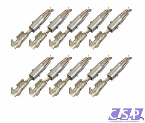 Crimp pin contacto micro Timer II para los conectores o enchufes enchufe 103 358.01 10335801