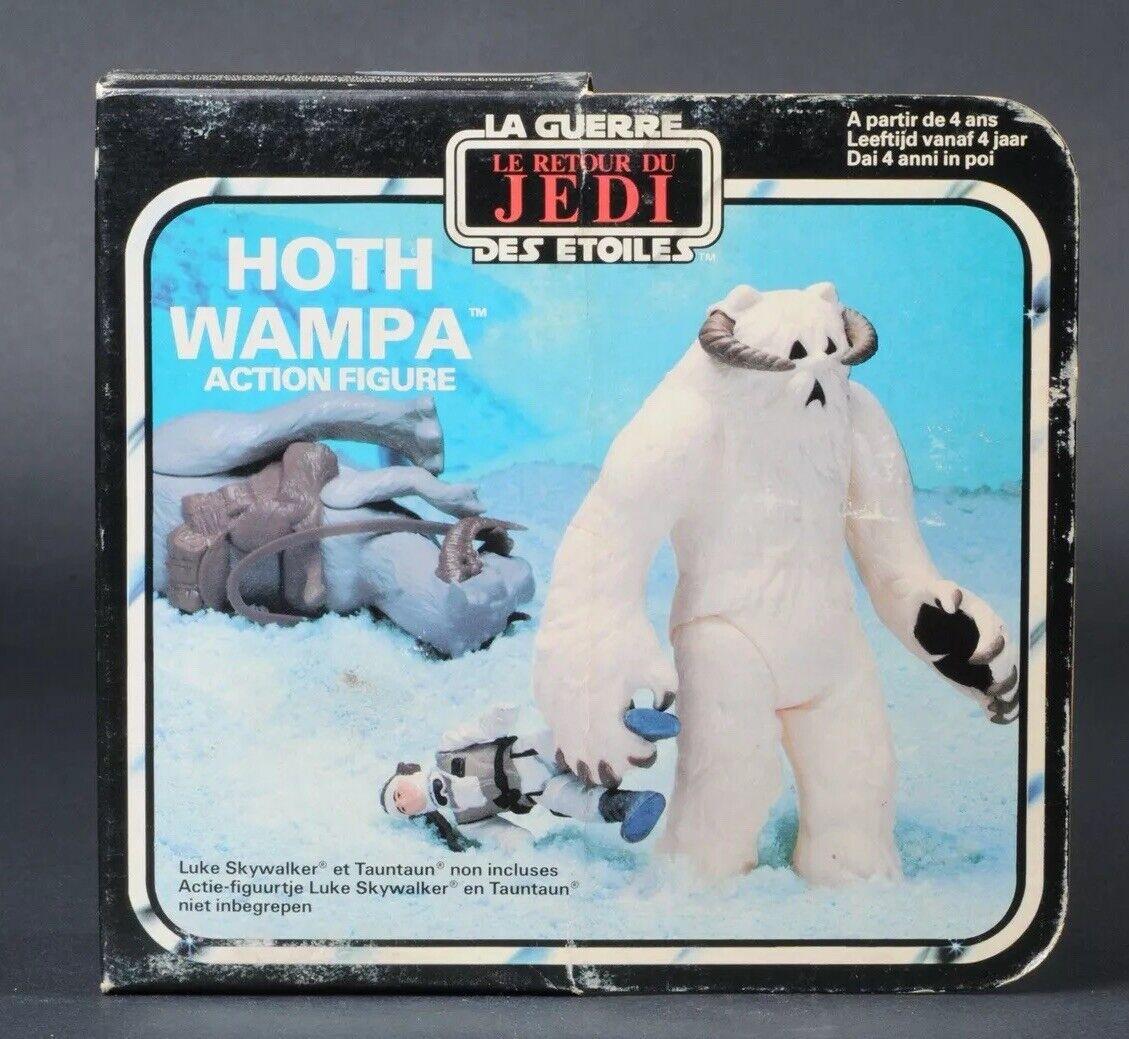 Star Wars Vintage Miro-Meccano redJ Wampa MISB