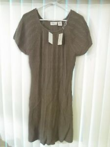 9f8dccaf090 Image is loading NWT-Allison-Brittney-Sweater-Dress-Size-Large-Knit-