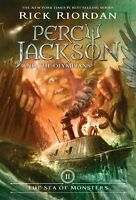 The Sea Of Monsters (percy Jackson And The Olympians, Book 2) By Rick Riordan, (