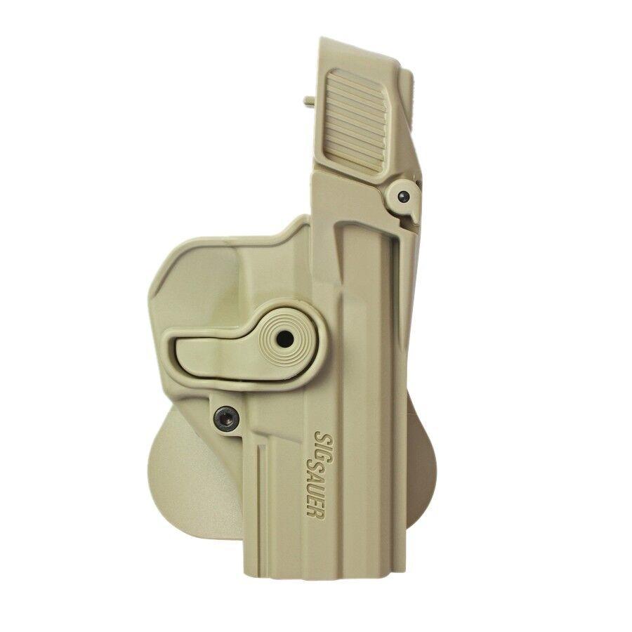 Nuevo IMI Sig Sauer P227 nivel 3 de retención Funda Pistola Desert Tan