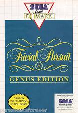 TRIVIAL PURSUIT: GENUS EDITION (Sega Master System Game)