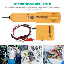 Network Rj11 Line Finder Cable Tracker Tester Sender Electric Wire Tracer With Bag