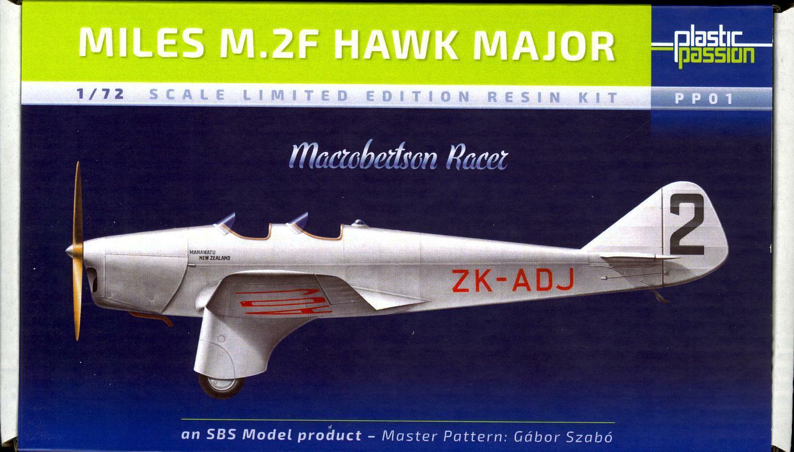 SBS modellllerlerler 172 MILES M.2F HAWK MAJOR MacRobertson Racer