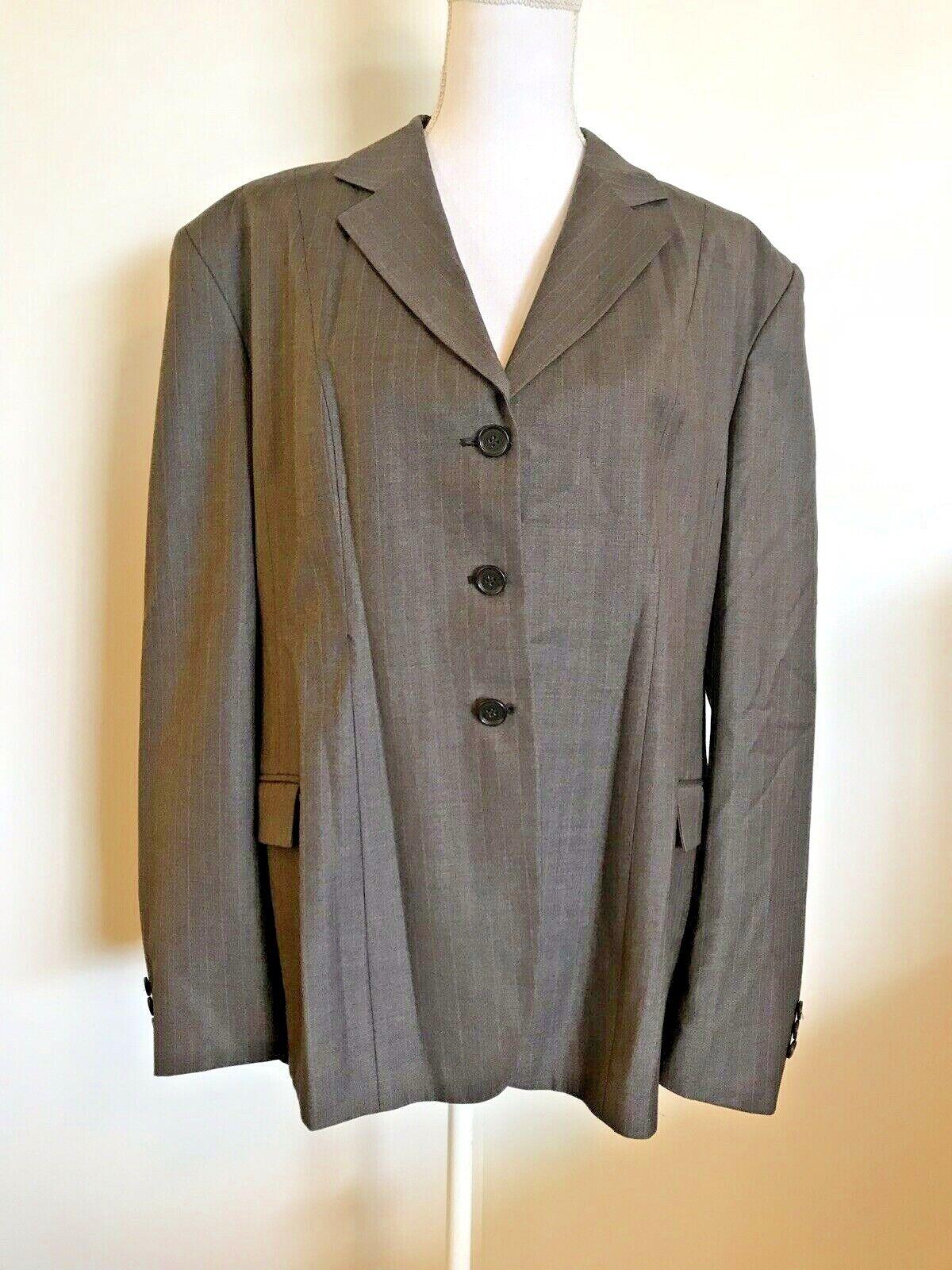 Wellington Colección mostrar Abrigo 14R gris chaqueta de montar a caballo