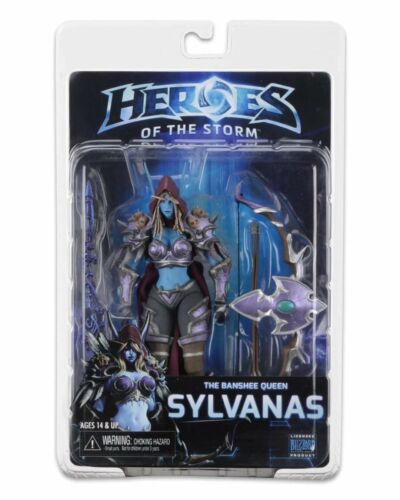 World of Warcraft Sylvanas Windrunner 7in Action Figure Statue Toy Collectibles