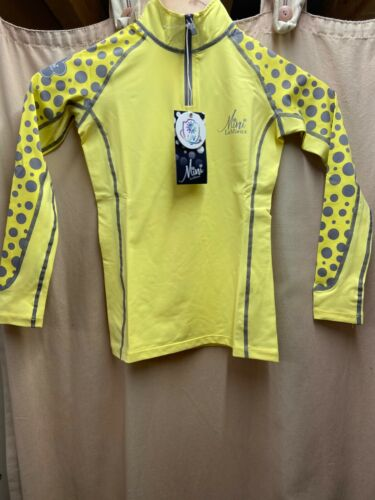 SIZE 9-10 YEARS BNWT MINI LE MIEUX BASE LAYER IN CITRON