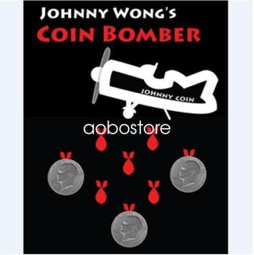 by Johnny Wong Coin Magic Tricks Coin Bomber Morgan Coin