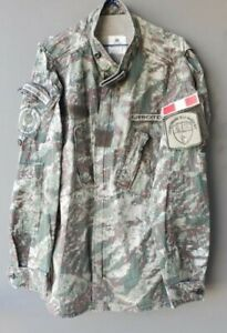 original peruanische Army Amapat Militar Camo Digi Uniform, Gr. L