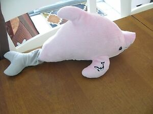 Winter Dolphin Tale Tail Plush Clearwater Marine Movie Aquarium Pink