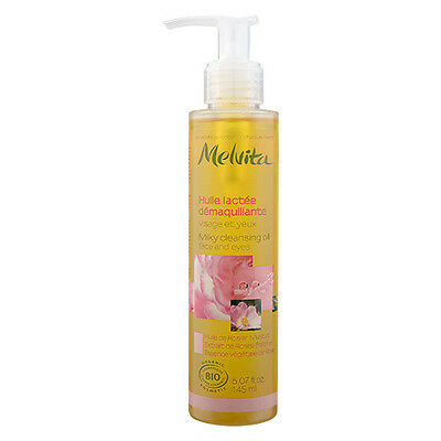 1 PC Melvita Milky Cleansing Oil Face And Eyes 145ml Cleansers Makeup Remover