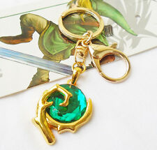 The Legend Of Zelda Green Stone Keychain Keyring Pendant