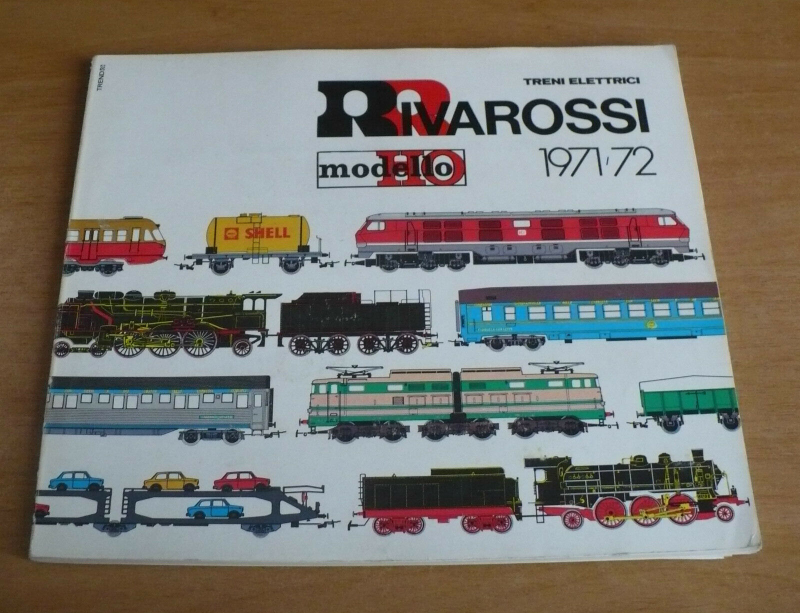 Model train catalog rivarossi 1971-1972 Electric Trains Model HO