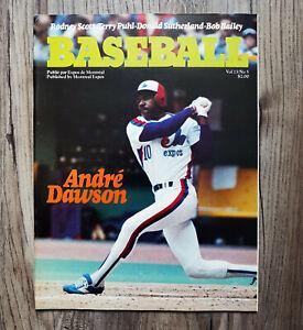MLB-1981-Montreal-Expos-Game-Program-Vol-13-No-5-HOFer-Andre-Dawson-Cover