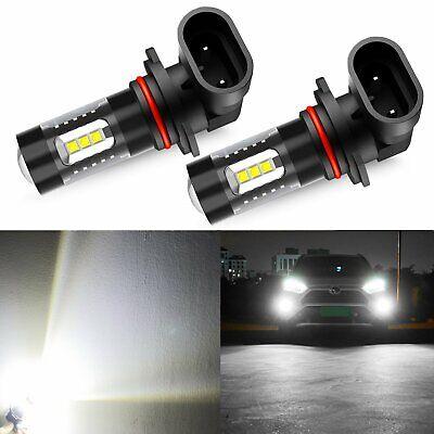 JDM ASTAR 2x CREE H10 9145 White Daytime Running Fog//Driving Lights LED Bulbs