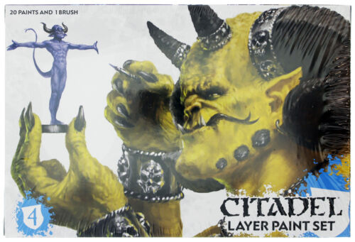 NEW CITADEL LAYER PAINT SET LAYERING TECHNIQUE NATURAL HIGHLIGHTS MINIATURES
