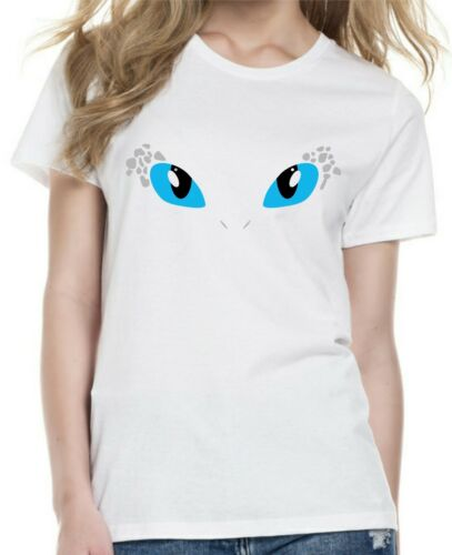 Womens cut and kids  HOW TO TRAIN YOUR DRAGON inspired LIGHT FURY T-shirt