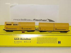 Lux-9631-Set-Vagon-Limpiador-Schienenschleifer-Dc-Analogico-Digital