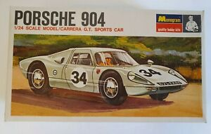 MONOGRAM PORSCHE 904 G.T. SPORTS CAR 1/24 PC127 - SLOT CAR RACER