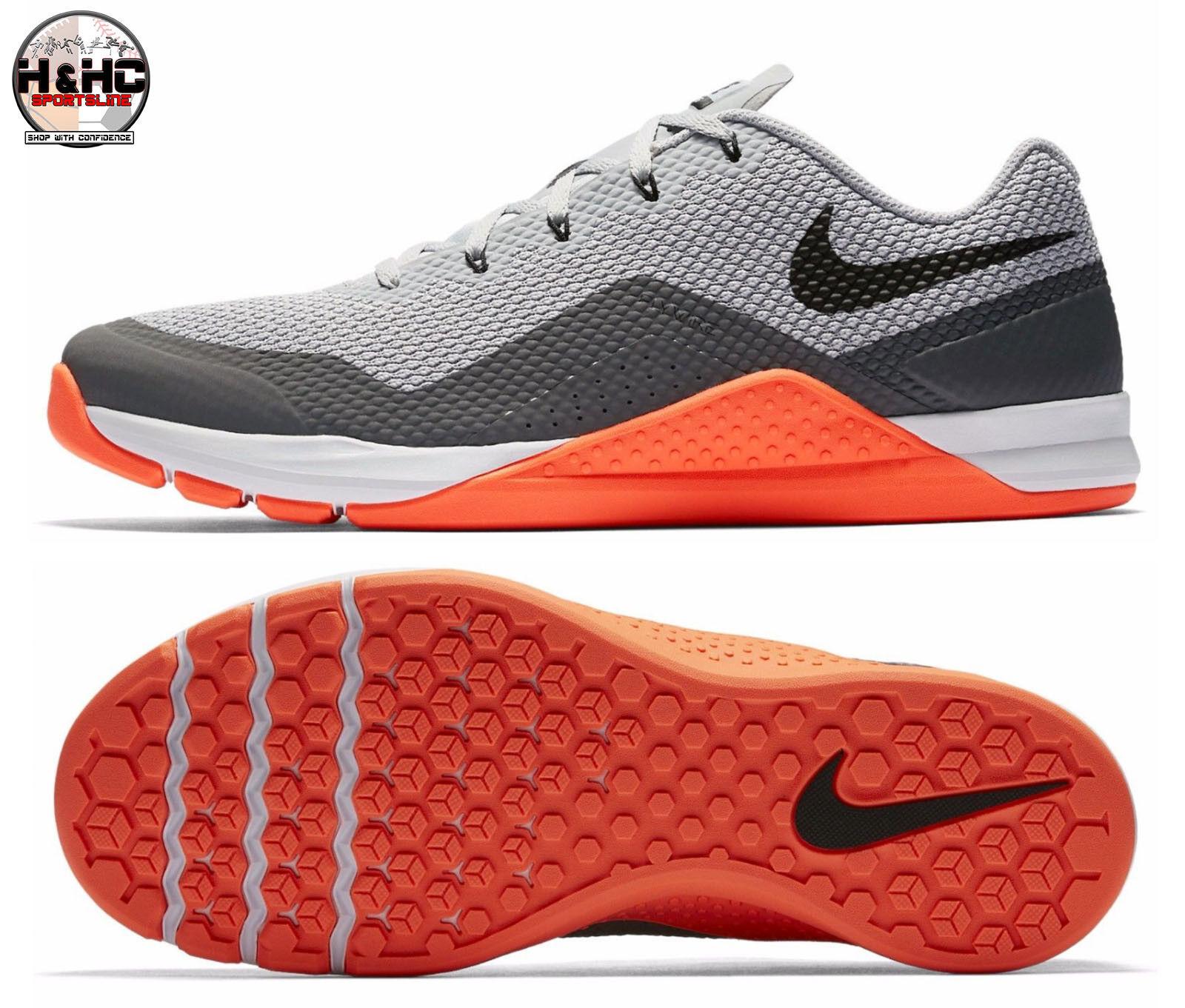 Nike metcon repper dsx 898048 006 grigio / nero crimson uomini di formazione scarpe sz 14