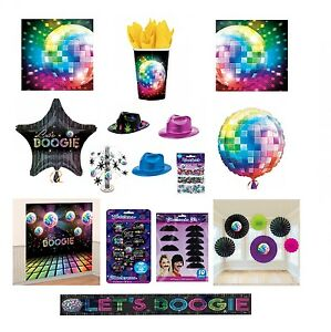 I-LOVE-THE-70s-Disco-Fever-soiree-a-theme-Gamme-Boule-A-Paillettes-Decorations