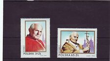 POLAND - SG2881-2882 MNH 1983 PAPAL VISIT POPE JOHN PAUL II