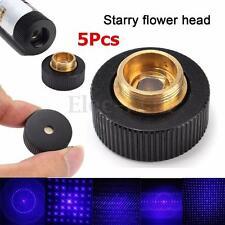 5Pcs Converter Light Refraction 5-Style Head Blue For 303 Laser Pen Beam