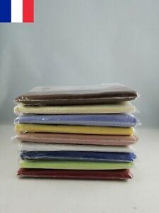 Lot-de-4X-Taie-d-039-oreiller-housse-65-x-65-cm-Coton-et-polyester-Couleur-BLANC