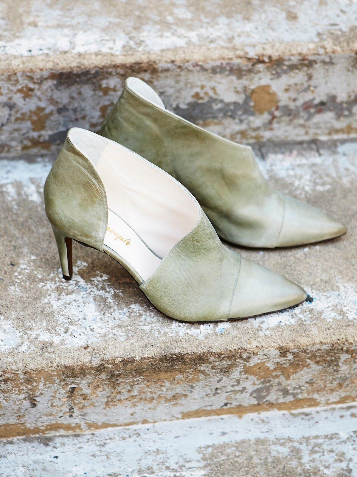 Free People Silber Linings Heel Größe 8 New damen MSRP   168