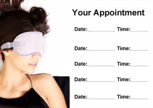 Beauty Treatment Spa Personalised Appointment Cards