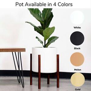 Image Is Loading Large Ceramic Plant Pot Modern Planter Indoor Flower