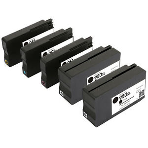 5Pack-for-HP-950XL-951XL-Ink-Cartridge-New-Version-Chip-OfficeJet-Pro-8100-8600