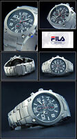 Fila Large Luxurious Aviator Men's Chronograph Watch Japan Movement Easy To Read