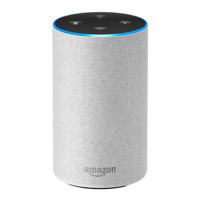 ✅AMAZON Echo 2. Generation Sandstein hellgrau, kompatibel mit Amazon Alexa NEU✅