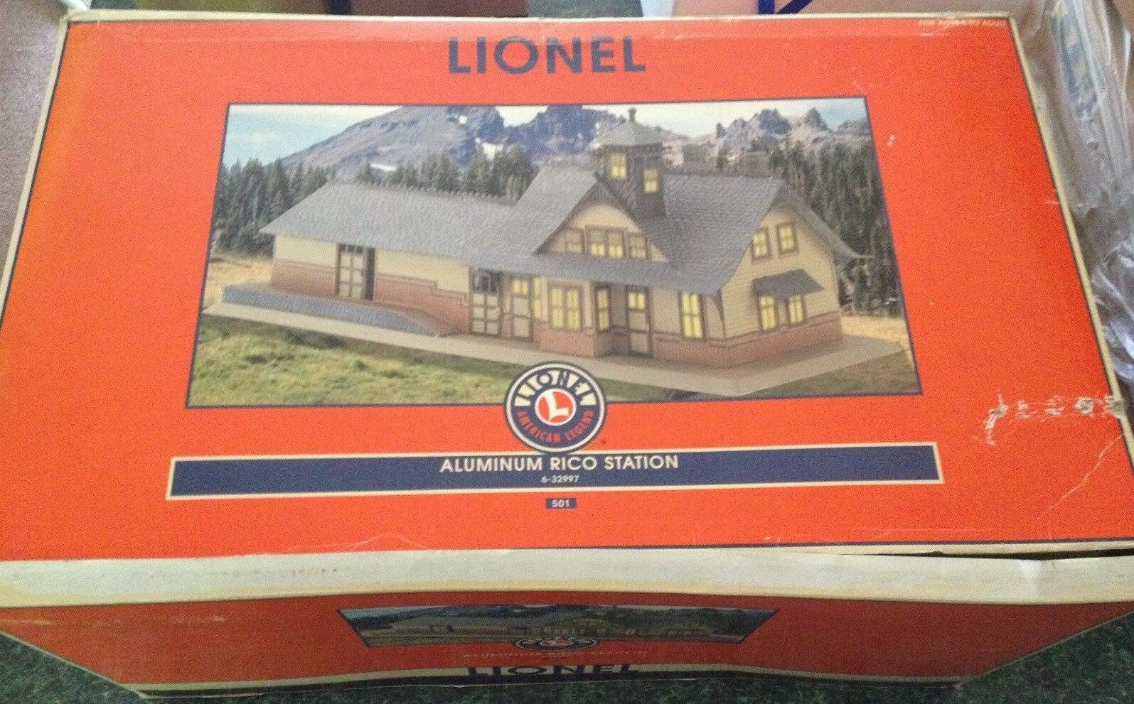 Lionel 6-32997 Aluminum Rio Station New bad Box
