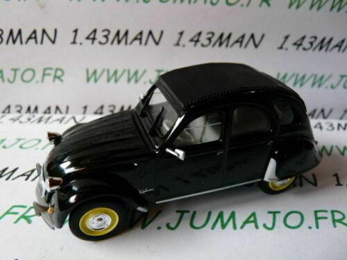 2CV46E voiture Norev citroën 2 CV n°137 KATIA noire