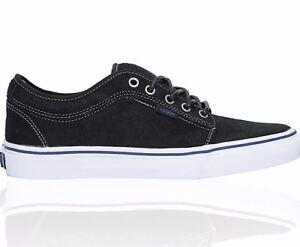 VANS Chukka Low Black Dura-Suede Blue Men s Skate Shoes Size 7  fc33ad849